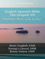 English Spanish Bible - The Gospels VII - Matthew, Mark, Luke & John