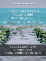 English Norwegian Polish Bible - The Gospels II - Matthew, Mark, Luke & John