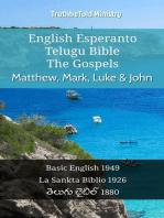 English Esperanto Telugu Bible - The Gospels - Matthew, Mark, Luke & John