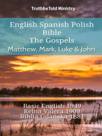 English Spanish Polish Bible - The Gospels - Matthew, Mark, Luke & John