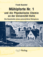 Mühlpforte Nr. 1 und die Physikalische Chemie an der Universität Halle