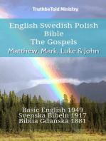 English Swedish Polish Bible - The Gospels - Matthew, Mark, Luke & John