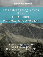 English Tagalog Slovak Bible - The Gospels - Matthew, Mark, Luke & John