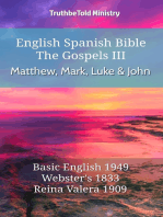 English Spanish Bible - The Gospels III - Matthew, Mark, Luke and John