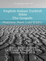 English Italian Turkish Bible - The Gospels - Matthew, Mark, Luke & John