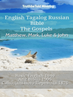 English Tagalog Russian Bible - The Gospels - Matthew, Mark, Luke & John