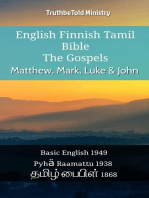 English Finnish Tamil Bible - The Gospels - Matthew, Mark, Luke & John