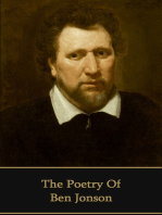 The Poetry of Ben Jonson