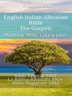 English Italian Albanian Bible - The Gospels - Matthew, Mark, Luke & John