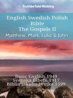 English Swedish Polish Bible - The Gospels II - Matthew, Mark, Luke & John