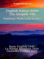 English Italian Bible - The Gospels VIII - Matthew, Mark, Luke & John