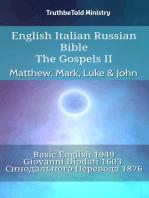 English Italian Russian Bible - The Gospels II - Matthew, Mark, Luke & John