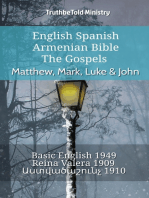 English Spanish Armenian Bible - The Gospels - Matthew, Mark, Luke & John