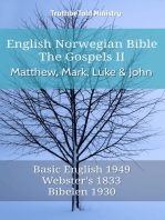 English Norwegian Bible - The Gospels II - Matthew, Mark, Luke and John