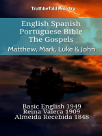 English Spanish Portuguese Bible - The Gospels - Matthew, Mark, Luke & John