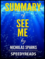Summary of See Me by Nicholas Sparks