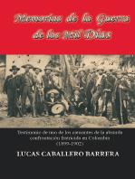 Memorias de la Guerra de los Mil Dias