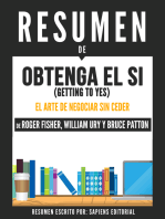 Obtenga El Si (Getting To Yes)