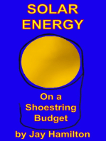 Solar Energy On A Shoestring Budget