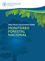 Directrices voluntarias sobre Monitoreo Forestal Nacional