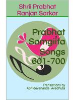Prabhat Samgiita – Songs 601-700