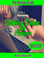 The Ultimate Guide to Getting Sales on Fiverr For New Sellers