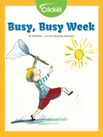 Busy, Busy Week
