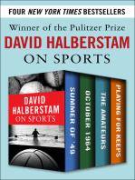 David Halberstam on Sports