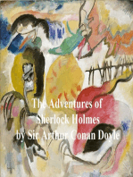 The Adventures of Sherlock Holmes, First of the Five Sherlock Holmes Short Story Collections