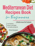 Mediterranean Diet Recipes Book For Beginners