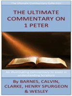 The Ultimate Commentary On 1 Peter