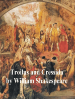 Troilus and Cressida, with line numbers