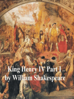 King Henry IV Part 1, with line numbers