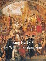 King Henry V, with line numbers