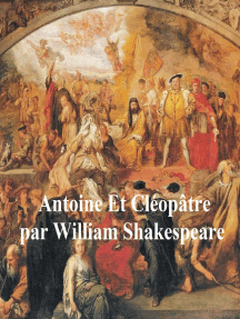 Antoine et Cleopatre, Antony and Cleopatra in French
