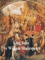 King John, with line numbers