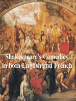 Shakespeare's Comedies, Bilingual edition (all 12 plays in English with line numbers and in French translation)
