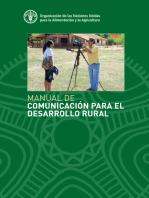 Manual de Comunicación para el desarrollo rural