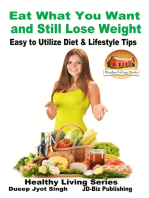 Eat What You Want and Still Lose Weight