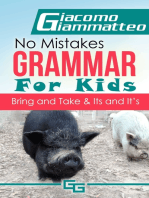 No Mistakes Grammar for Kids, Volume III, Bring and Take