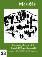 Montée -Leçon 28 L'Art D'Être Disciple