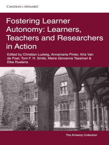 Read Fostering Learner Autonomy Learners Teachers And Researchers In Action Online By Christian Ludwig Books