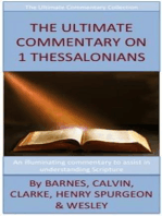 The Ultimate Commentary On 1 Thessalonians
