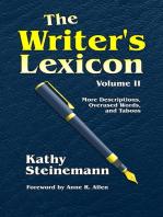 The Writer's Lexicon Volume II