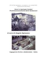 Scavi e tipologie fondali - Predimensionamento delle fondazioni