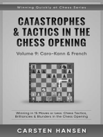 Catastrophes & Tactics in the Chess Opening - Vol 9