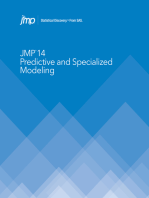 JMP 14 Predictive and Specialized Modeling