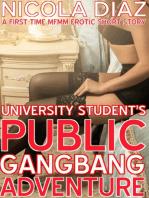 University Student's Public Gangbang Adventure