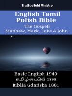 English Tamil Polish Bible - The Gospels - Matthew, Mark, Luke & John