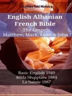English Albanian French Bible - The Gospels - Matthew, Mark, Luke & John